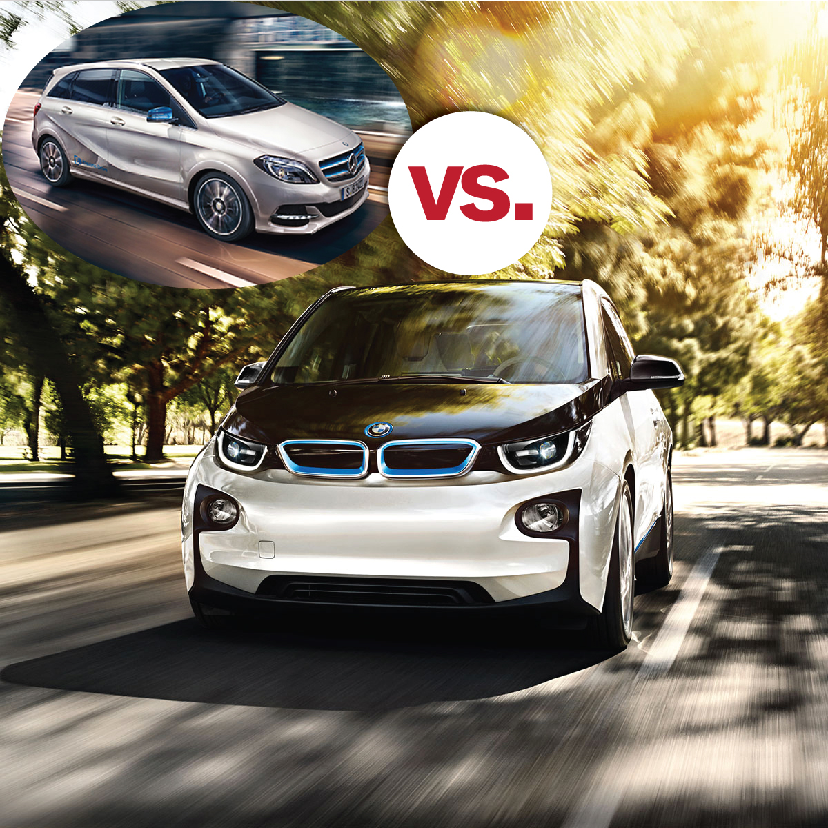 Bmw I3 Vs Mercedes Ed South Bmw