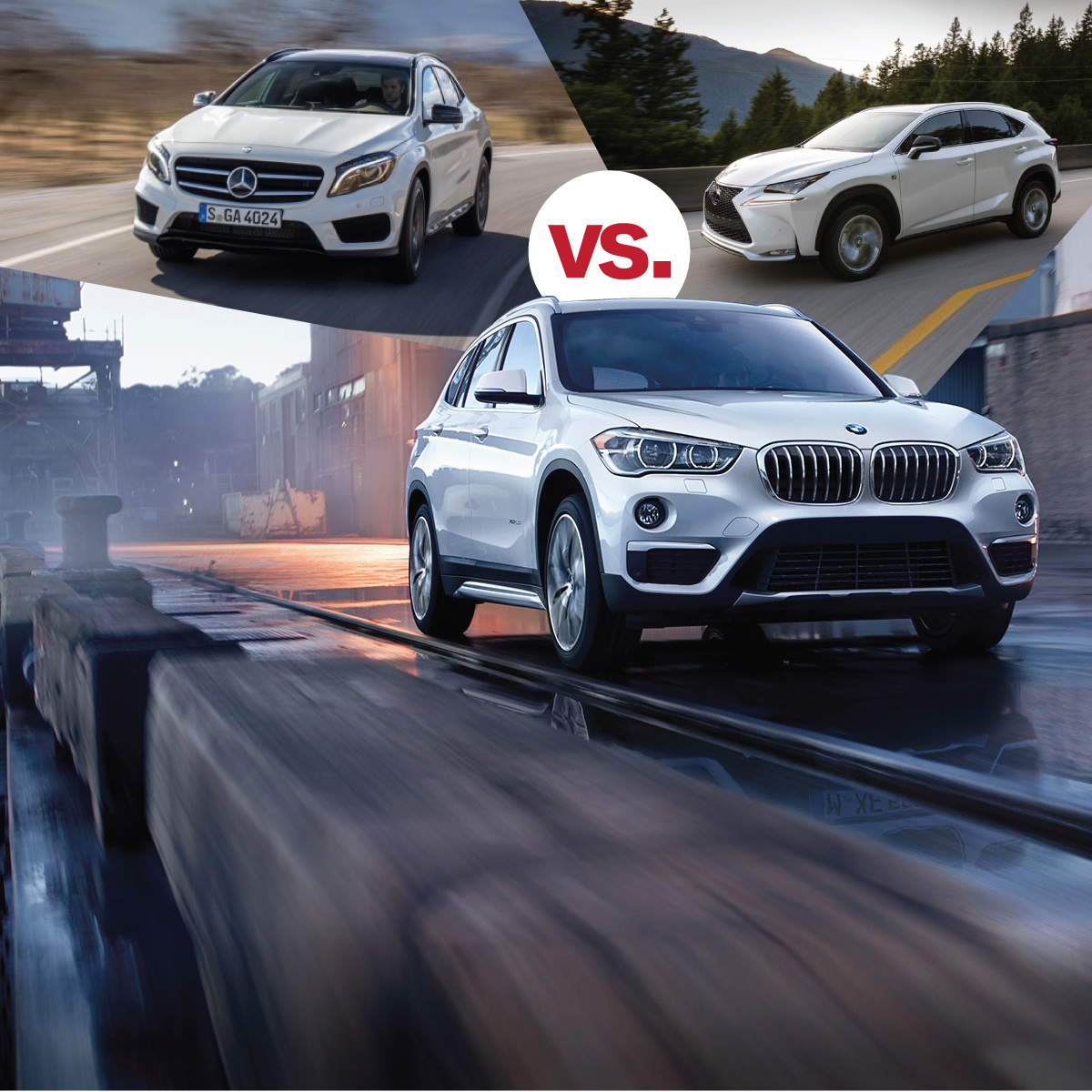 Bmw X1 V Mercedes Benz V Lexus South Bmw
