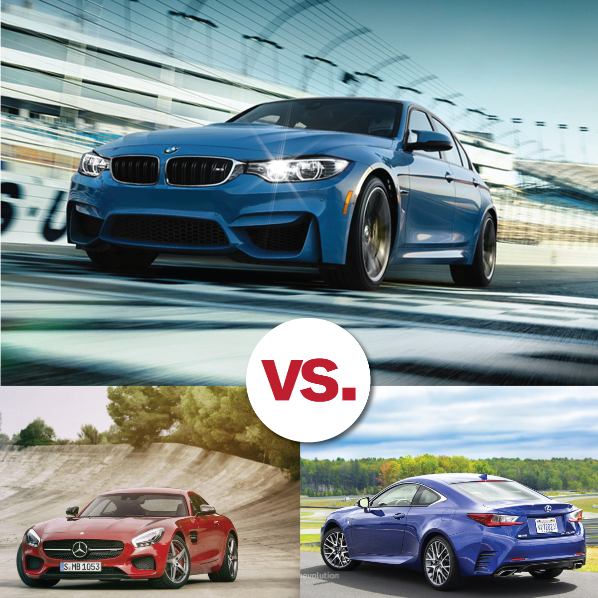 Comparison Shop Bmw M Series V Lexus Rc F V Mercedes Amg South Bmw