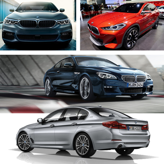 Bmw 5 Series 530e M Sport Iperformance Saloon Auto: BMW Shows Future Models At The 2017 NAIAS