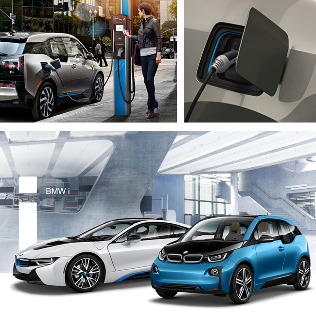 Charging BMW i3 and BMW i8