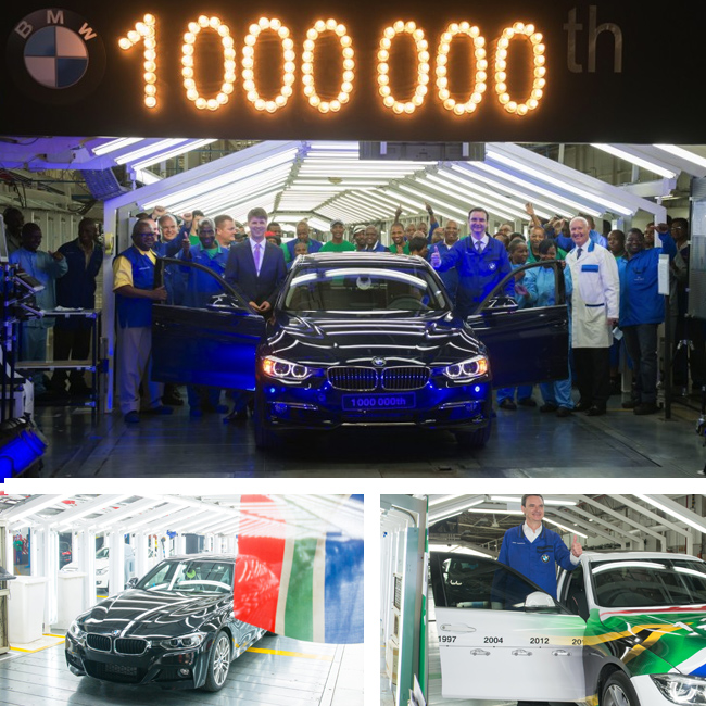 One Millionth BMW model produced