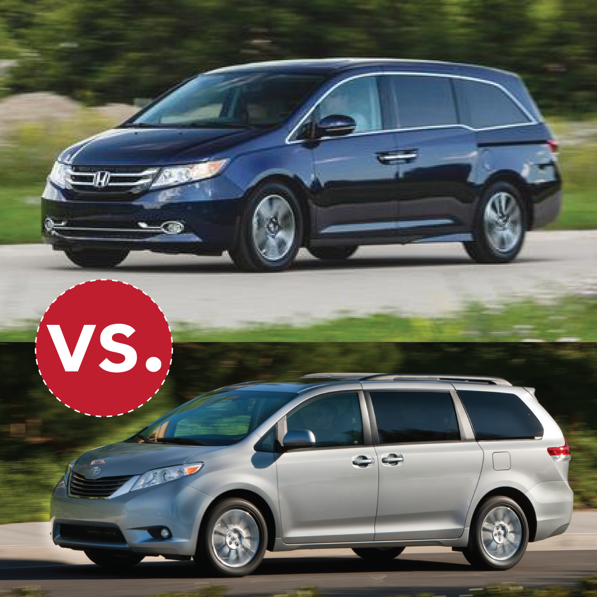 Comparison Honda Odyssey To Toyota Sienna