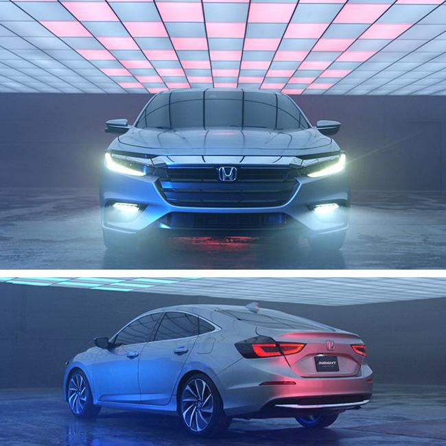 Miami Honda: The Honda Insight Prototype Takes A New Approach.