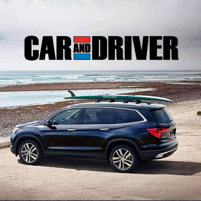 Car And Driver >> Car And Driver Loves The New Honda Pilot South Honda