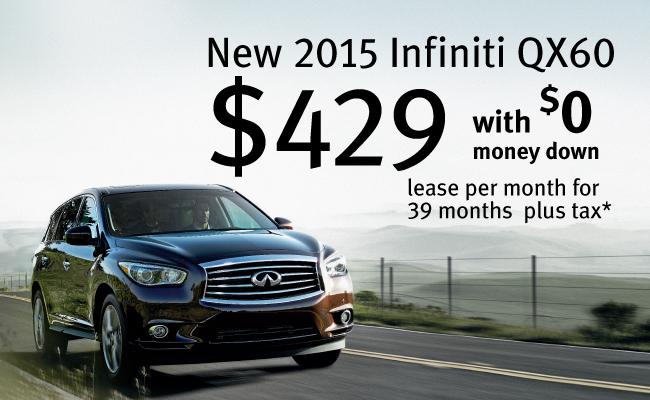 Infiniti Lease Specials >> Infiniti Qx60 Special Offers South Infiniti