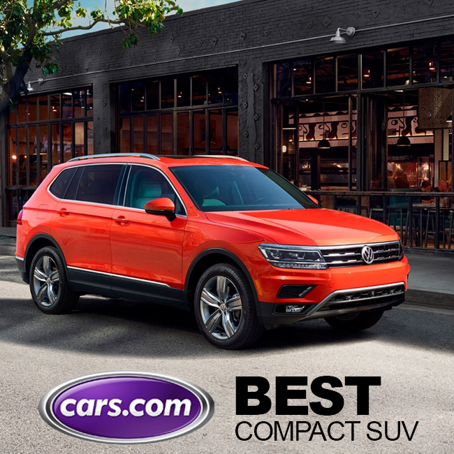 tiguan earns best compact suv award for 2018 south vw. Black Bedroom Furniture Sets. Home Design Ideas