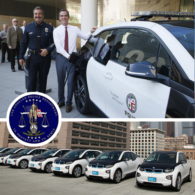 BMW i3 Los Angeles Police Department